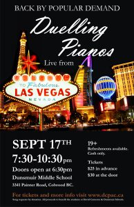Duelling Pianos September